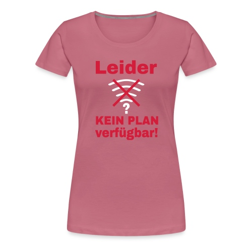 Wlan Nerd Sprüche Motiv - Frauen Premium T-Shirt