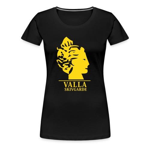 vallalogga2 - Premium-T-shirt dam