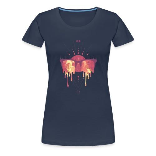 summer png - Dame premium T-shirt