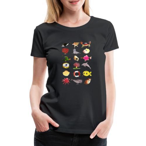 Save the Oceans! - Frauen Premium T-Shirt