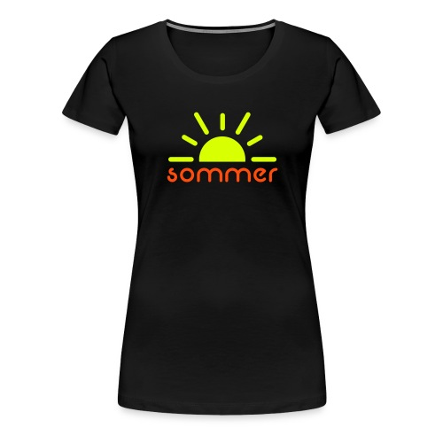 Sommer - Frauen Premium T-Shirt