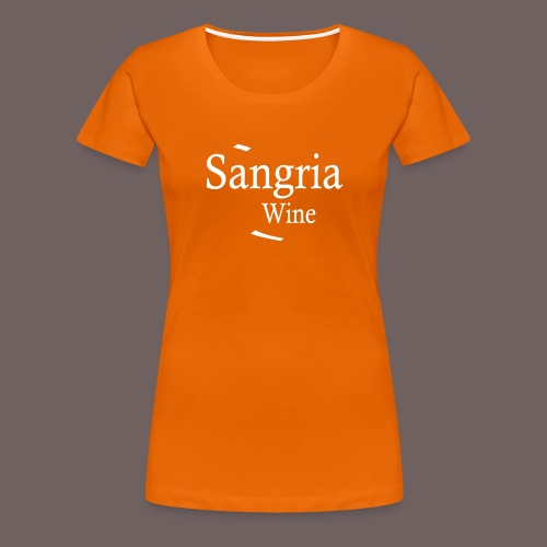 GBIGBO zjebeezjeboo - Fleur- Vin de Sangria [Flex] - T-shirt Premium Femme