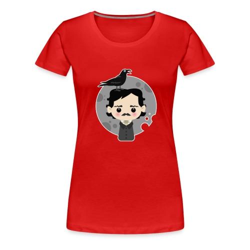 Edgar Allan Poe - Maglietta Premium da donna