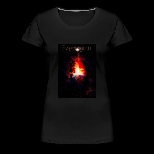 Expression - Vrouwen Premium T-shirt