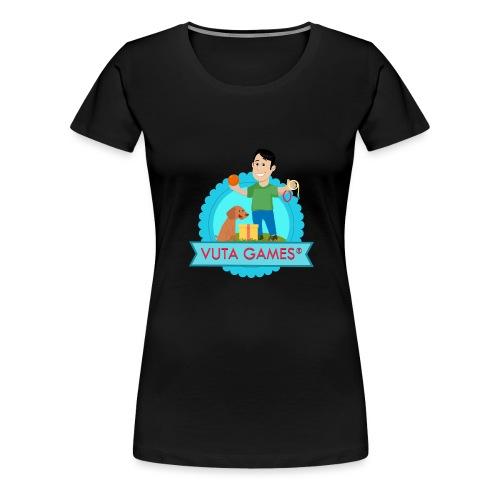 VUTA GAMES® - T-shirt Premium Femme