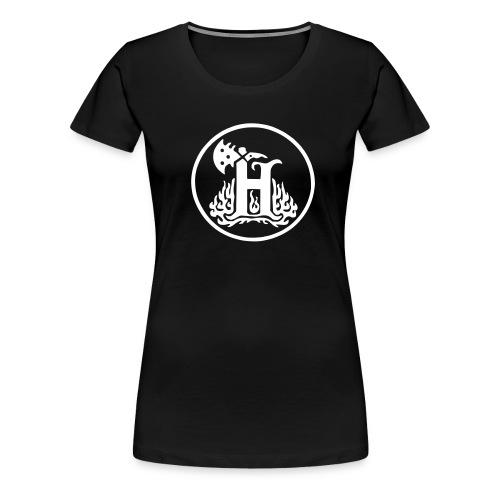 THlogoVector - Naisten premium t-paita