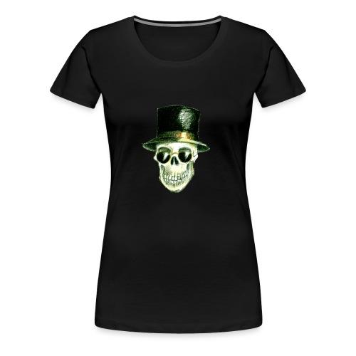 Schädel Hatter - Frauen Premium T-Shirt