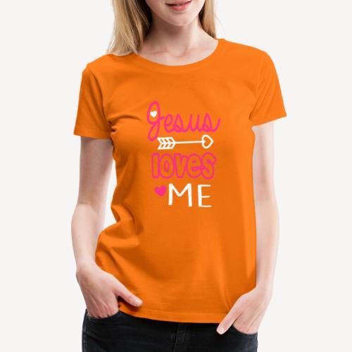 JESUS LOVES ME - Women's Premium T-Shirt
