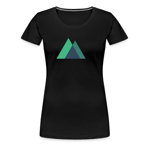 Mountain Logo - Women's Premium T-Shirt