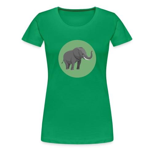Elefantenklasse Shirt - Frauen Premium T-Shirt