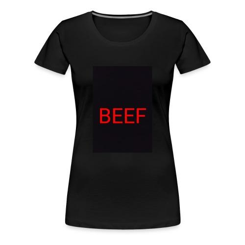 Beef red - Frauen Premium T-Shirt