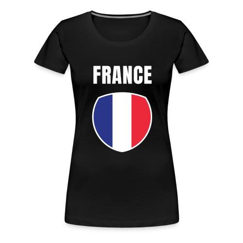 Pays France - T-shirt Premium Femme