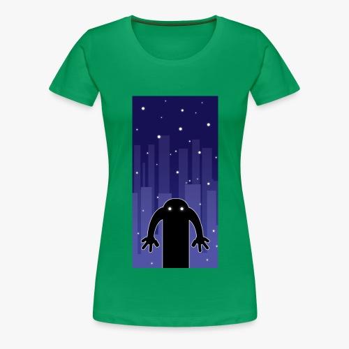 Haunt - Dame premium T-shirt