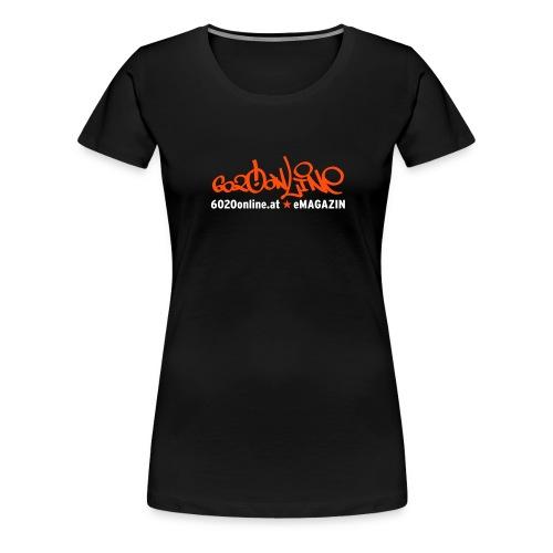 6020 Online 2c - Frauen Premium T-Shirt