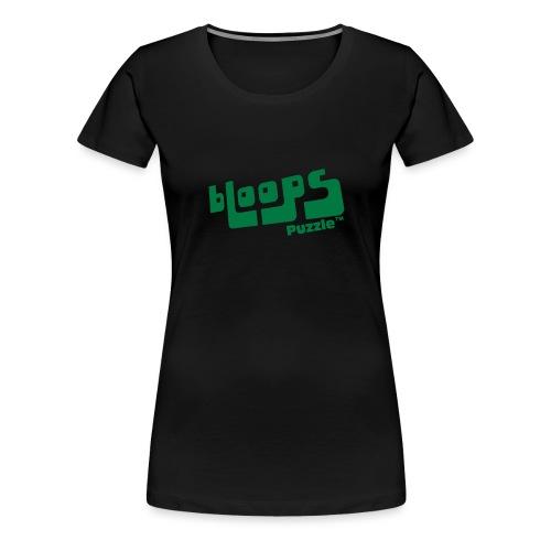 Women's Organic Tank Top bLoops Puzzle™ - Premium T-skjorte for kvinner