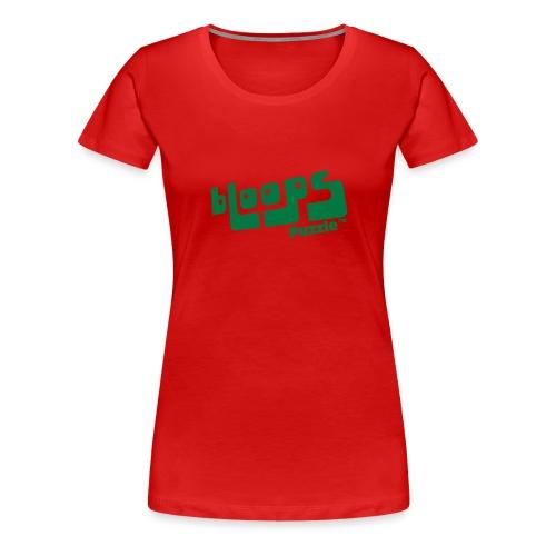 Women's Organic Tank Top bLoops Puzzle™ - Vrouwen Premium T-shirt