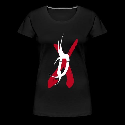 disclaimer d - Frauen Premium T-Shirt