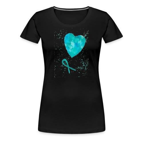 pcossydän - Naisten premium t-paita