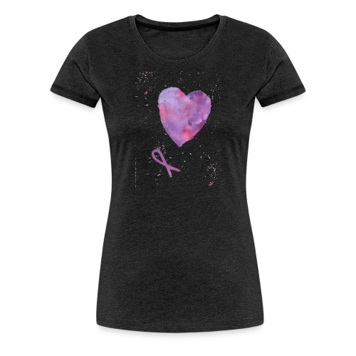 vulvodyniasydän - Naisten premium t-paita