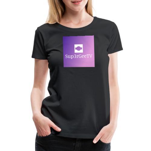 Sup3rGee - Dame premium T-shirt