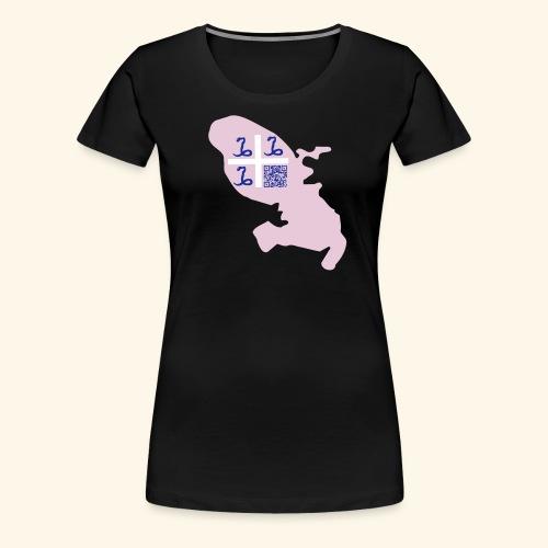 qr code martinique31 - T-shirt Premium Femme