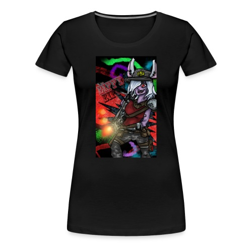 Eiffy la Dingue - T-shirt Premium Femme
