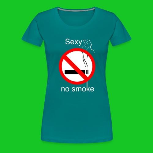 Sexy no smoke - Vrouwen Premium T-shirt
