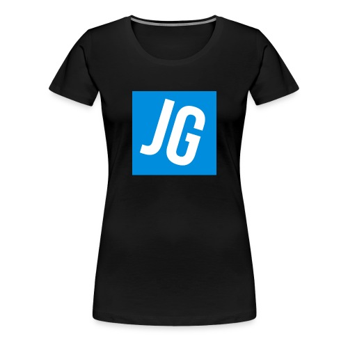 Jerraz Gaming Logo - Women's Premium T-Shirt