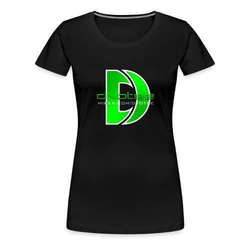 spreadshirt_logo_text - Women's Premium T-Shirt