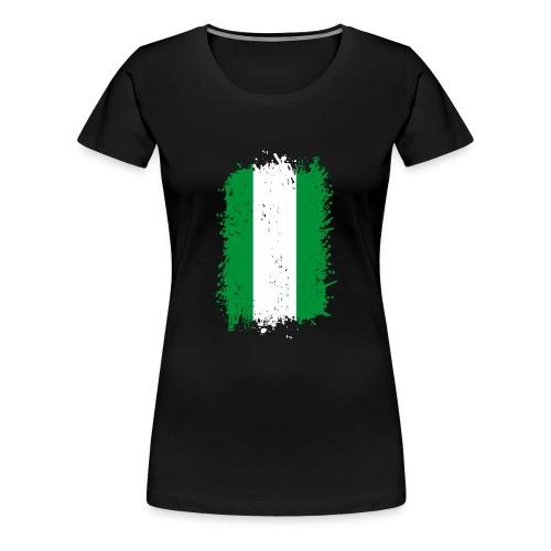 Nigeria - Frauen Premium T-Shirt