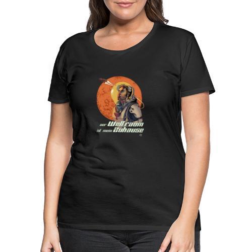Comic Rick 01 - Frauen Premium T-Shirt