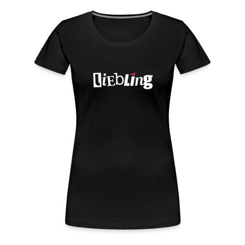 linkepv liebling rotweiss - Frauen Premium T-Shirt