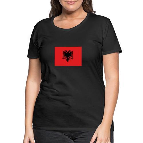 Shqipria - Frauen Premium T-Shirt