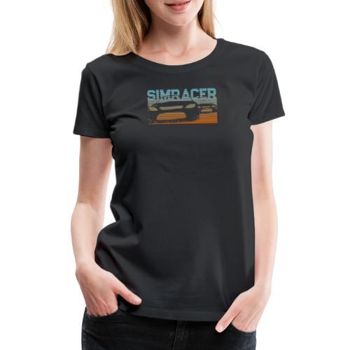 Sim Racing T-Shirt Geschenk für Rennspiel Fans - Frauen Premium T-Shirt