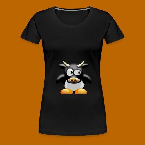 cow-158552_1280 - T-shirt Premium Femme