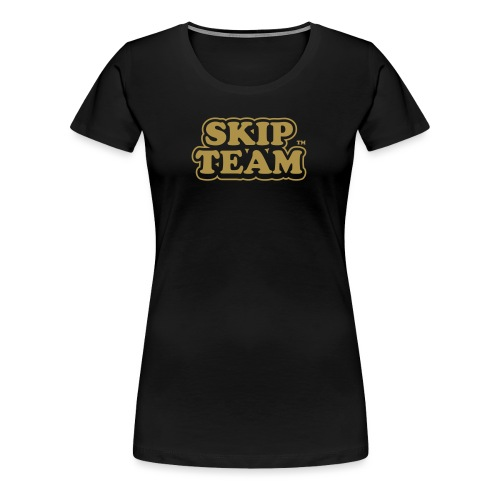 skipteam logo - Women's Premium T-Shirt