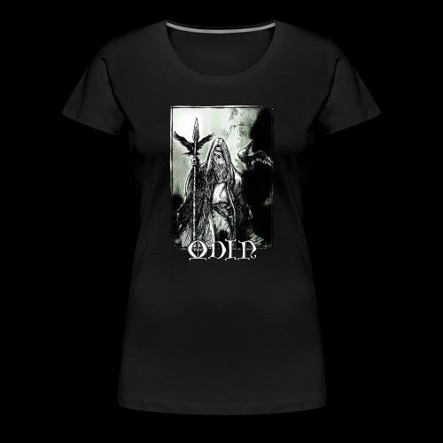 Odin the Wanderer - Women's Premium T-Shirt