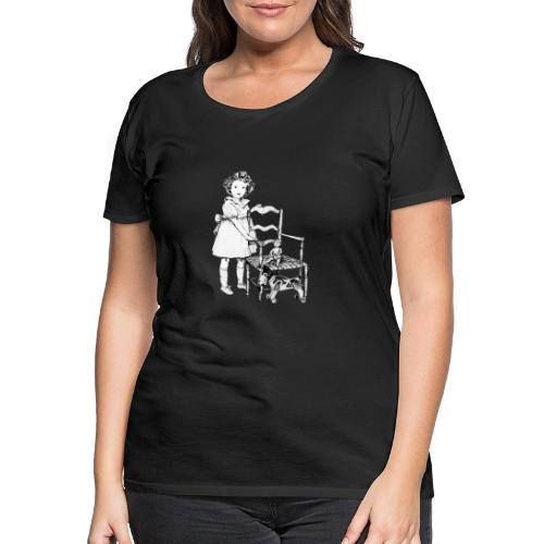 Nelly et sa chaise - T-shirt Premium Femme