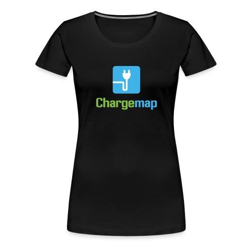 Chargemap Vertical Logo - T-shirt Premium Femme