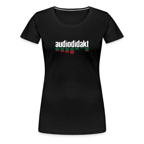 audiodidakt - Frauen Premium T-Shirt