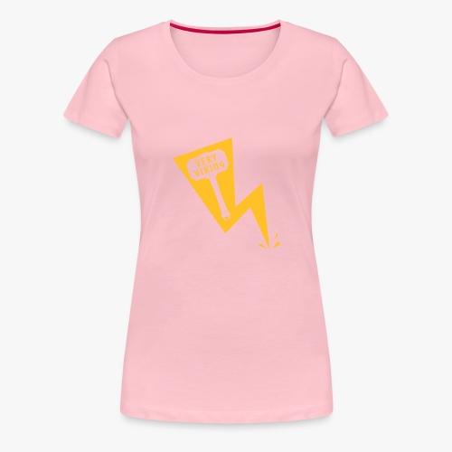 Lightning - Very Viking - Dame premium T-shirt