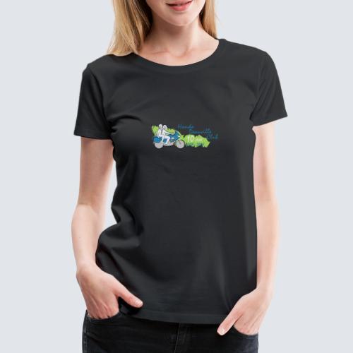 HDC jubileum logo - Vrouwen Premium T-shirt