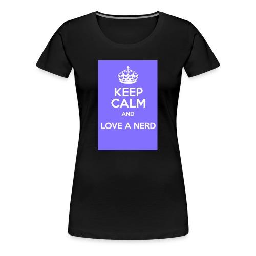 Love Nerd - Maglietta Premium da donna