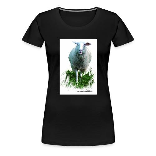 Gemaltes Entrup Schaf - Frauen Premium T-Shirt