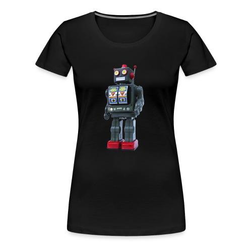 T-Shirt ROBOT - Maglietta Premium da donna