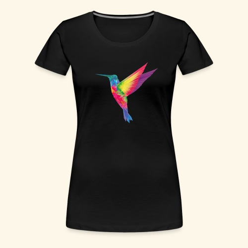 Kolibri - wild und frei - Frauen Premium T-Shirt