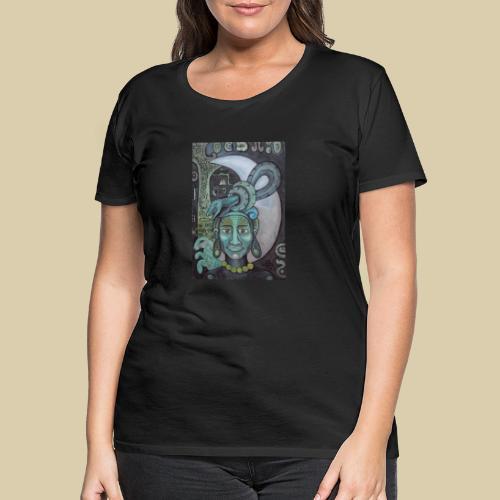 ixchel azul - Camiseta premium mujer