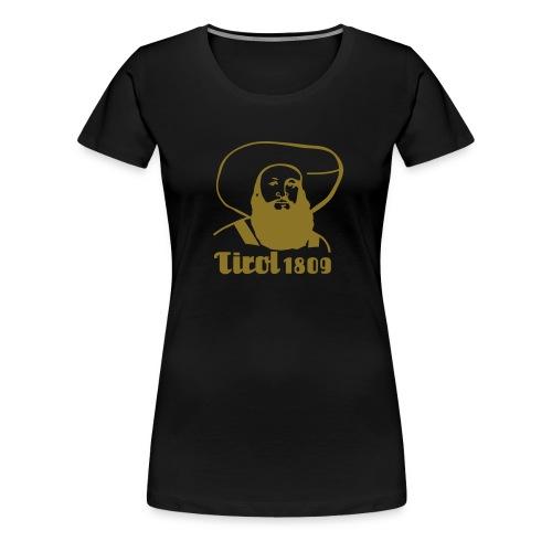 Andreas Hofer Silber1 - Frauen Premium T-Shirt
