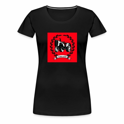 KonradSB czerwony - Koszulka damska Premium