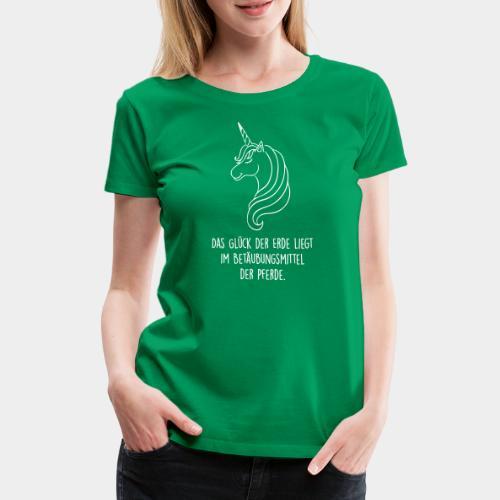 Das Glück der Erde...(Outlines) - Frauen Premium T-Shirt